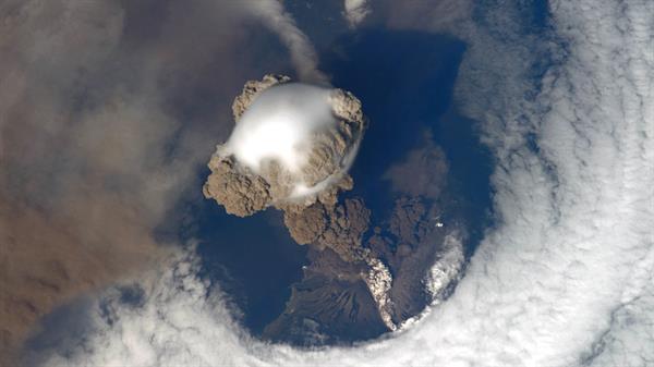 Yanardağ patlamaları küresel ısınmayı yavaşlattı