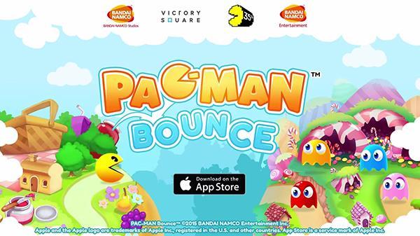 Pac-Man Bounce bazı bölgelerin Appstore'larındaki yerini aldı