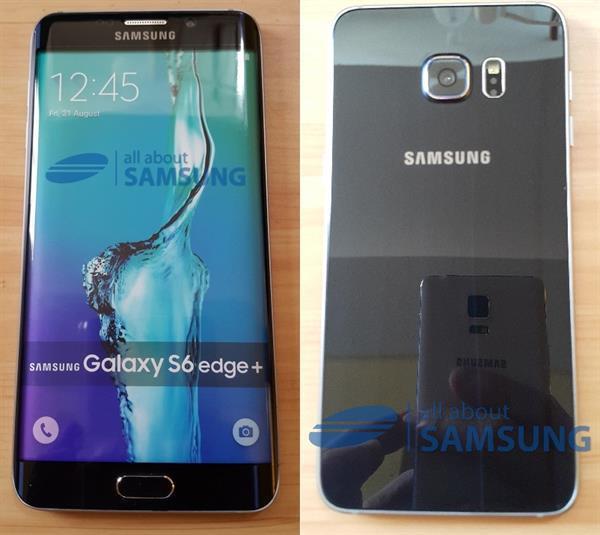 Galaxy S6 Edge Plus yeni sızıntıda Note 4 ile yan yana geldi