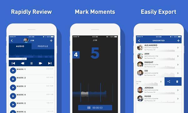 iOS uyumlu yeni gelişmiş ses kaydedici: Pio Smart Recorder