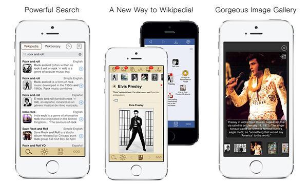 Wikipedia temelli iOS uygulaması Wikilinks, yeniden ücretsiz yapıldı