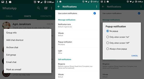 Android için WhatsApp'a faydalı özellikler eklendi