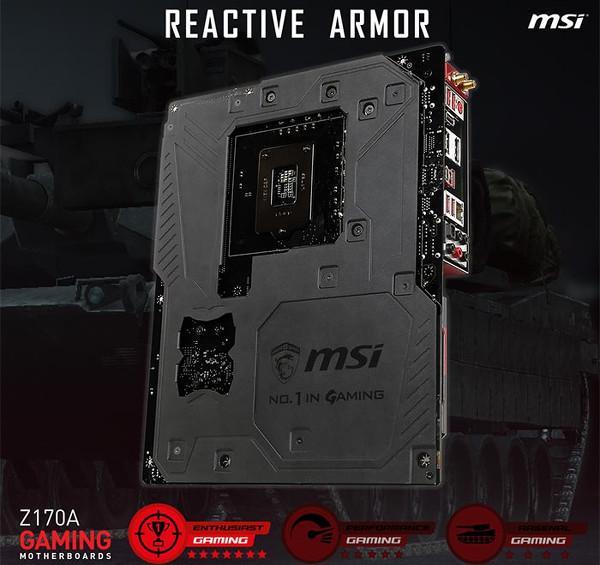 MSI, Intel Z170 tabanlı yeni oyuncu anakartlarını hazırlıyor