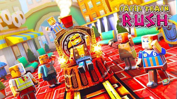 Sonsuz koşu oyunu Paper Train: Rush, oyuncuların beğenisine sunuldu