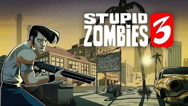 Shooter oyunu Stupid Zombies 3, iOS platformu için de yayımlandı