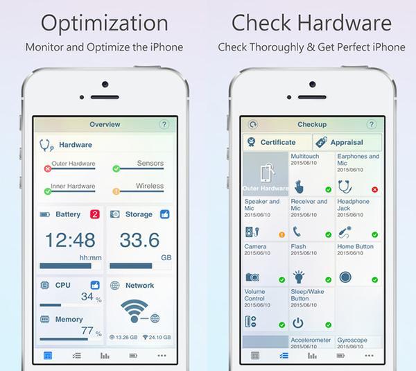 iOS uyumlu Phone Doctor Plus, 72 saat için ücretsiz
