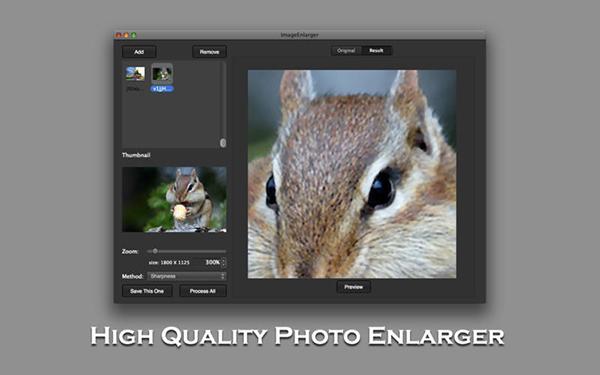 Mac için ImageEnlarger uygulaması artık ücretsiz