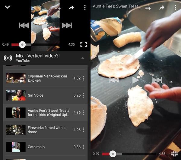 YouTube'un iOS sürümü de tam ekran dikey video desteği kazandı