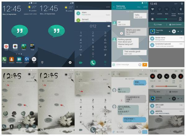 Samsung Galaxy S6 serisi için 9 yeni resmi tema daha