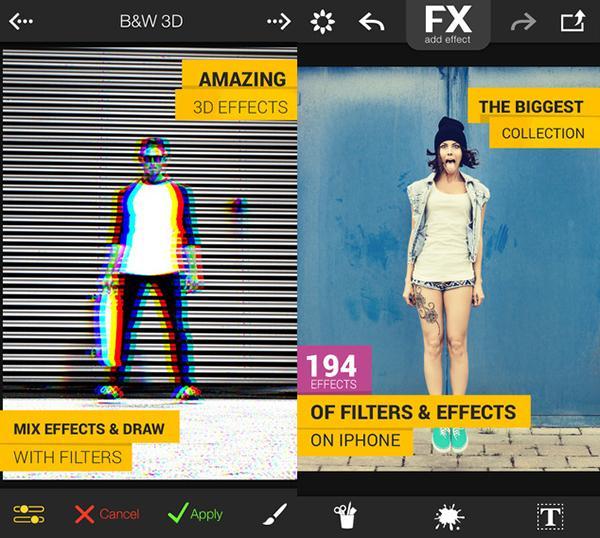 iOS için FX Photo Studio ücretsiz yapıldı