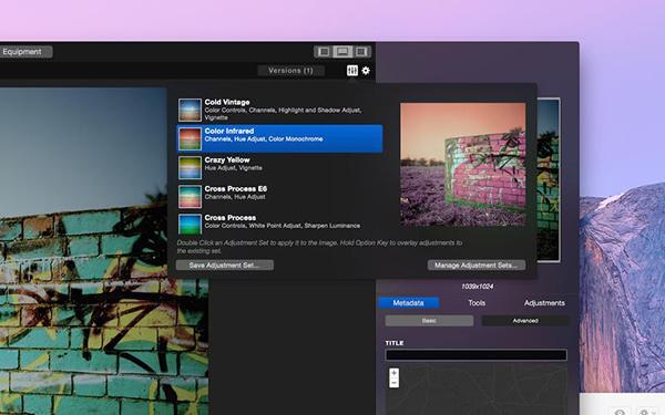 Fotoğraf odaklı yeni Mac uygulaması: Emulsion
