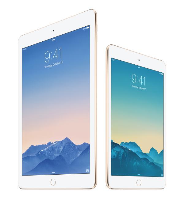 Bu yıl için de iPad Air ve iPad mini sesleri