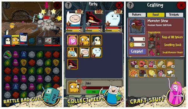 Adventure Time kahramanları bu kez renk eşleme oyununda