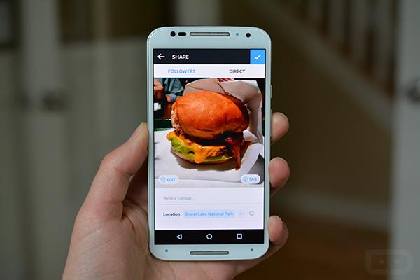 Android için Instagram'a yeni hızlı düzenleme ekranı geldi