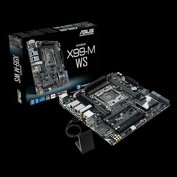 Asus'un micro-ATX boyuttaki X99 anakartı satışa çıkıyor