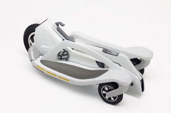 Volkswagen'den yeni elektrikli scooter: Last Mile Surfer