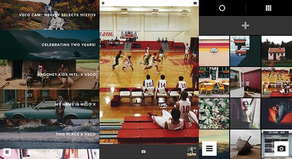 Fotoğraf uygulaması VSCO Cam, iOS ve Android tarafında güncellendi