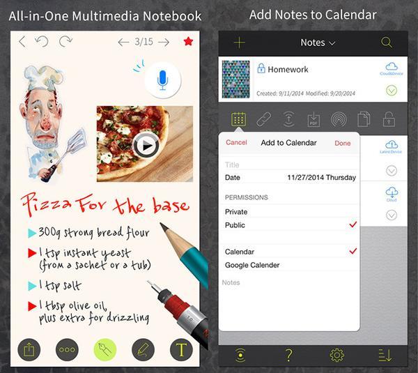 iOS uyumlu NoteLedge Ultimate kısa bir süre için ücretiz yapıldı