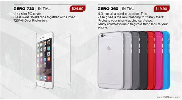 iPhone 6S kılıf sızıntıları tasarımın değişmeyeceğini gösteriyor
