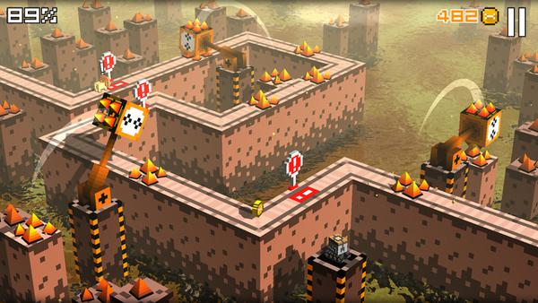 Re-Volt geliştiricisinden Crossy Road tarzında platform oyunu
