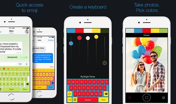 iOS için yeni klavye özelleştirme uygulaması: Photokeys