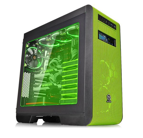 Thermaltake Core V51 kasası yeşillendi