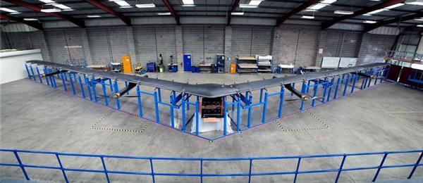 Facebook insansız hava aracının yapımını tamamladı