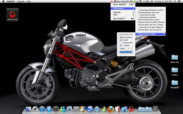 Mac uyumlu beQUIET ücretsiz yapıldı