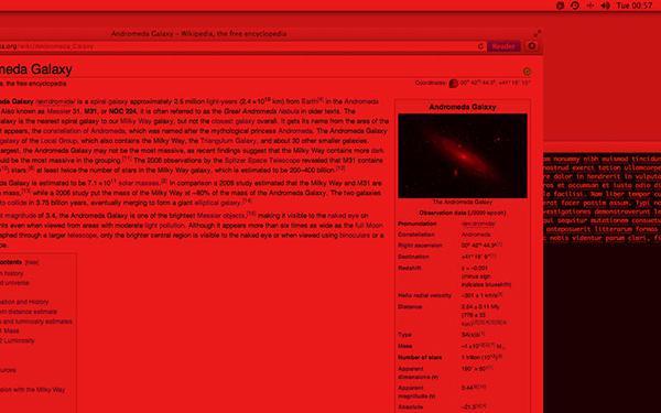 Mac uyumlu ilginç uygulama Darklight artık ücretsiz