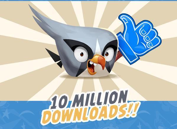 Angry Birds 2 indirme sayısı 10 milyonu geçti