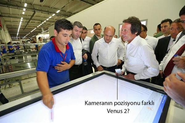 Vestel Venus 2 görüntülendi mi ?