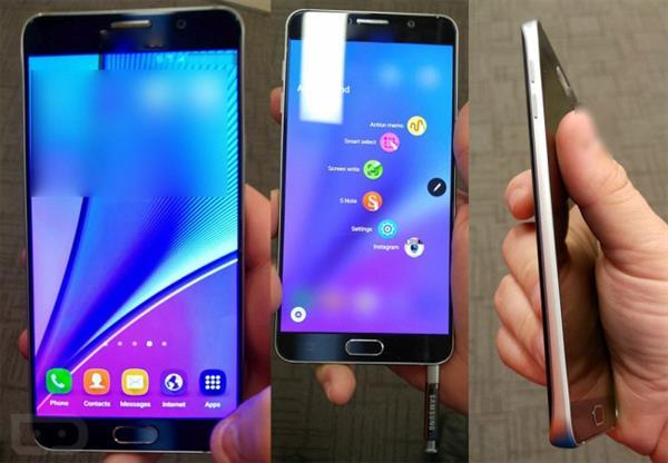 Samsung Galaxy Note 5'in en detaylı görselleri ortaya çıktı