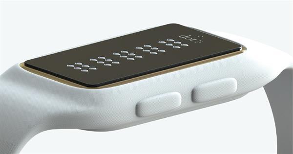 Görme engelliler için özel akıllı saat: Dot