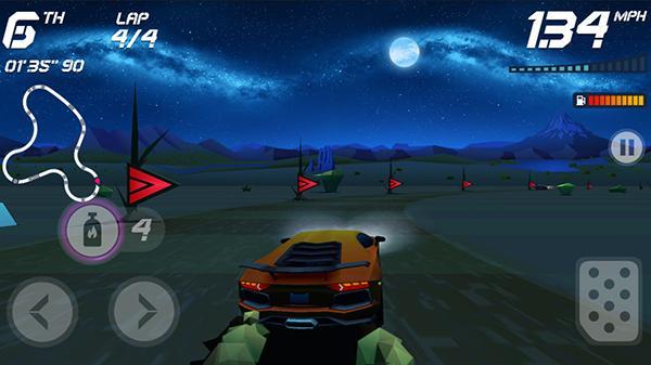Arcade tarzdaki yarış oyunu Horizon Chase'in ay sona ermeden yayımlanması planlanıyor