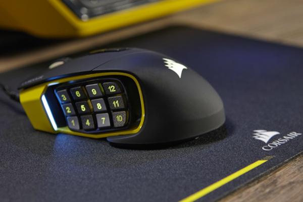 Dünyanın en gelişmiş MOBA/MMO oyuncu faresi: Corsair SCIMITAR RGB