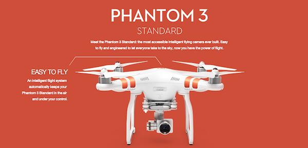 DJI, yeni drone modeli Phantom 3 Standard'ı duyurdu
