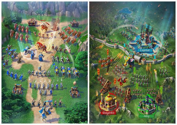 Gameloft yeni bir strateji oyunu duyurdu