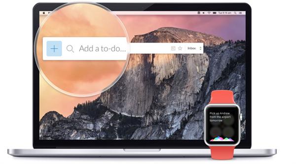 Apple Watch ve Mac için Wunderlist güncellendi