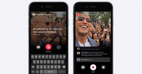 Facebook da canlı yayın özelliğine kavuşuyor, ancak yalnızca ünlüler yayın yapabilecek
