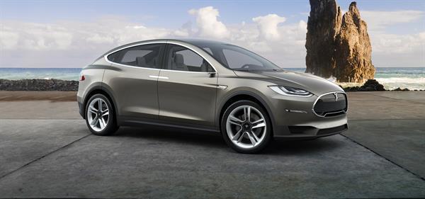 Tesla'nın yeni otomobili Model X önümüzdeki ay yollara çıkacak