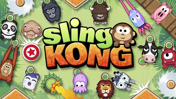 Sling Kong, Android ve iOS kullanıcılarının beğenisine sunuldu