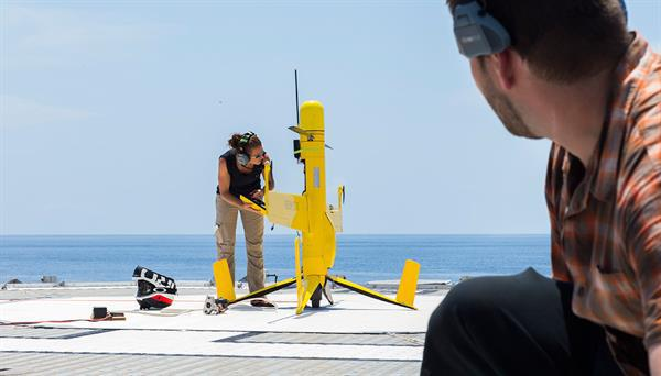 İki gün havada kalabilen drone kaçak balıkçılığı engelleyecek