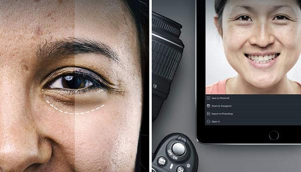 iOS uyumlu portre düzenleme uygulaması Relook, indirime girdi
