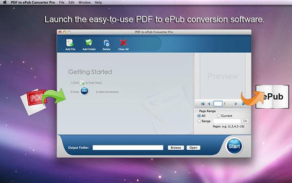 ePub odaklı Mac uygulaması PDF to ePub Converter Pro artık ücretsiz