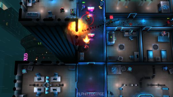 Shooter oyunu Neon Chrome, mobil cihazlar için de yayımlanacak