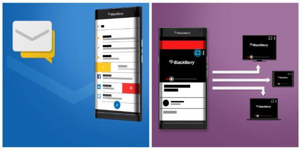Android tabanlı BlackBerry Venice kullanım görselleri sızdırıldı