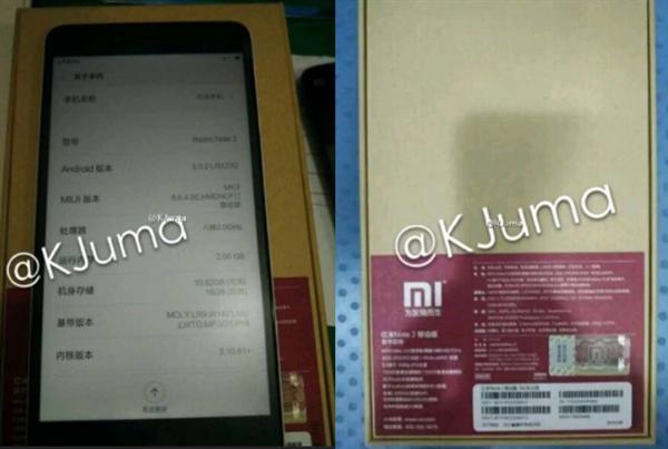 Redmi Note 2'nin tüm detayları fotoğraflarda ortaya çıktı