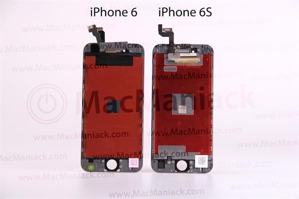 iPhone 6S'in ekran paneline ait sızıntı videoda Force Touch dikkat çekiyor