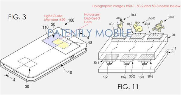 Samsung'un yeni patent başvurusu akıllı telefonlarda hologram teknolojisine işaret ediyor