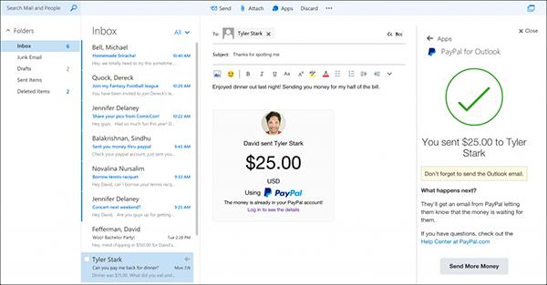 Outlook.com'a yeni partnerler eklendi